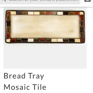 HOMETRENDS BREAD TRAY MOSAIC TILE